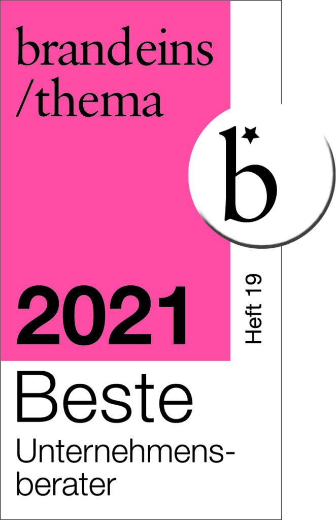 Beste Berater 2021 Siegel change factory