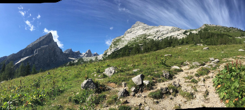 Ausblick auf Gipfel